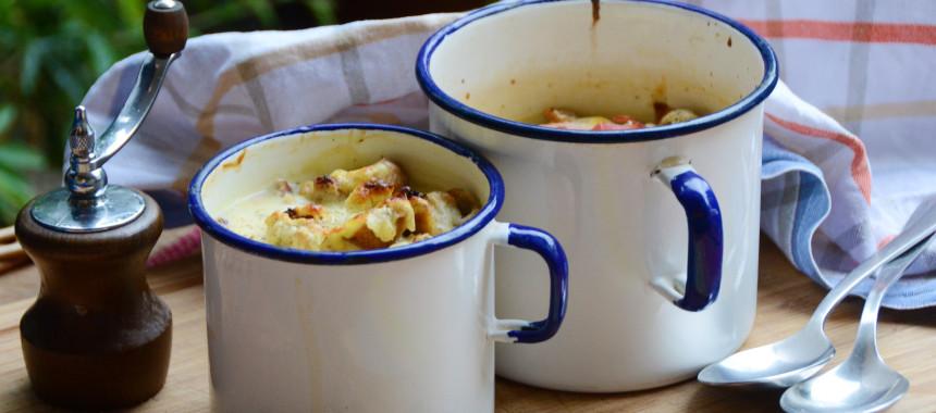 Überbackene Zwiebel-Käse Suppe