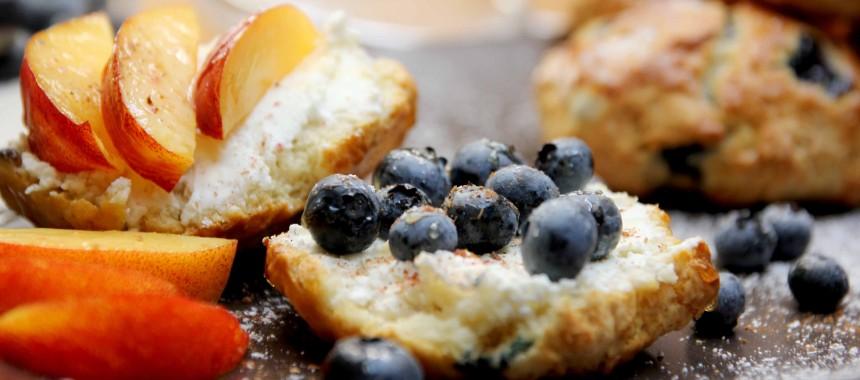 Heidelbeer-Frühstücks-Scones