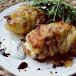 Hasselback- Kartoffeln