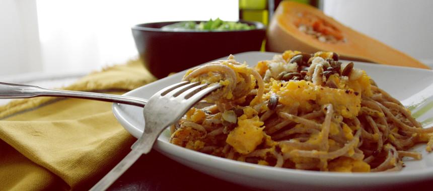 Kürbisspaghetti